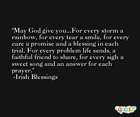Irish Blessings Quotes @Quotio