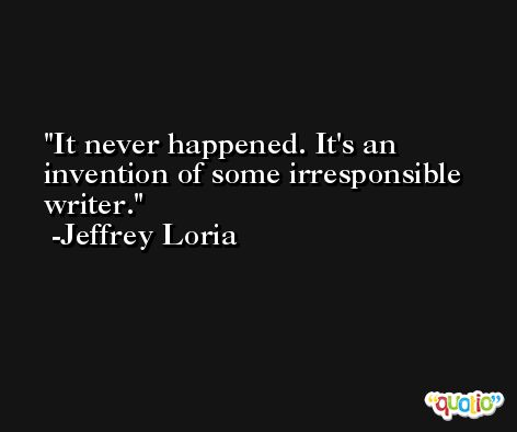 It never happened. It's an invention of some irresponsible writer. -Jeffrey Loria