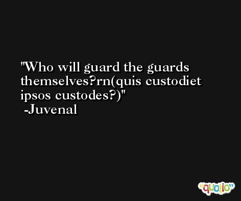 The Guards Themselves